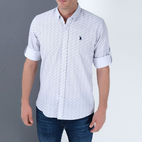 Rick Button-Up Shirt // White (Small)