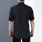 Rick Button-Up Shirt // Black (Small)