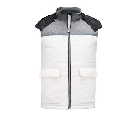 Sleeveless Vest // Off-White (S)