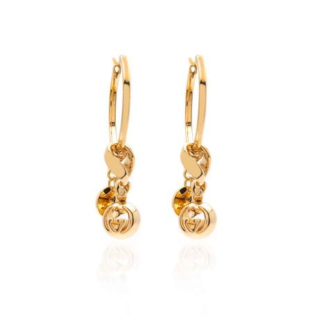 Gucci Boule 18k Yellow Gold Drop Earrings I
