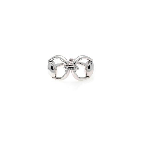 Gucci Horsebit Sterling Silver Link Bracelet