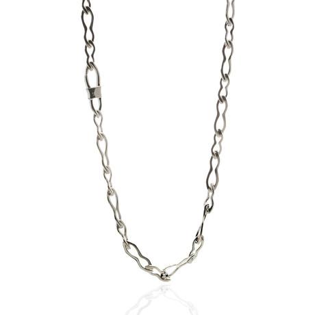 Gucci Sterling Silver Chain Necklace I