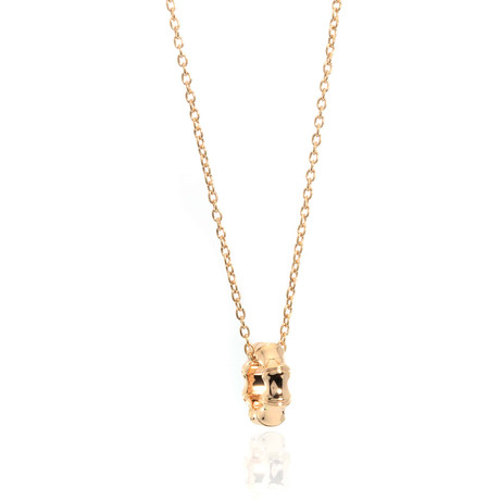Gucci Bamboo 18k Rose Gold Pendant Necklace