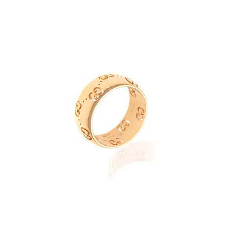 Gucci Icon 18k Yellow Gold Band Ring // Ring Size: 6.75