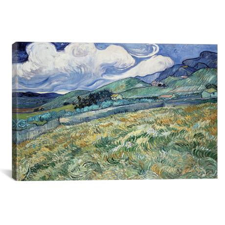 "Landscape at Saint-Remy (26""W x 18""H x 0.75""D)"