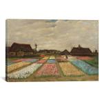 "Tulpenfelder (Tulip Fields) // Vincent van Gogh // 1883 (18""W x 26""H x 0.75""D)"