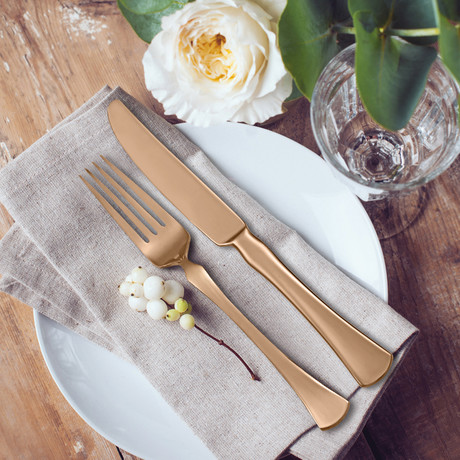 Skandia // Refinded // 5 Piece Place Setting (Copper)
