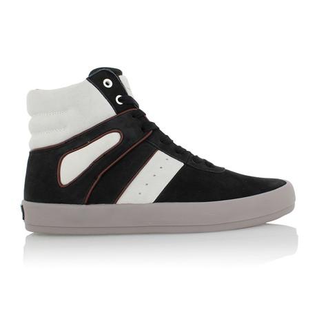 Moretti High Tops // Black + White (US: 7.5)