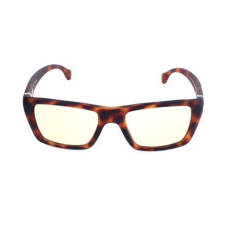 Police Men's Sunglasses // S1711M // Semi-Matte Havana