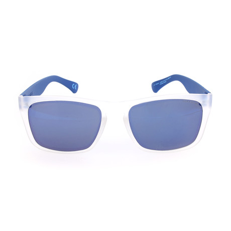 Police Men's Sunglasses // S1988 // Semi-Matte Crystal