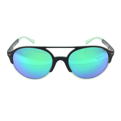 Police Men's Sunglasses // SPL163M // Semi-Matte Black