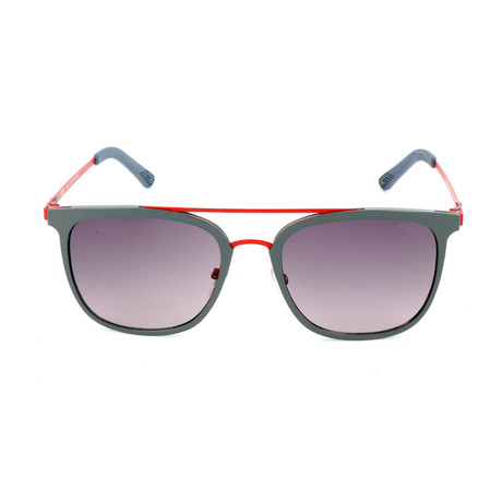 Police Men's Sunglasses // SPL568 // Semi-Matte Gray