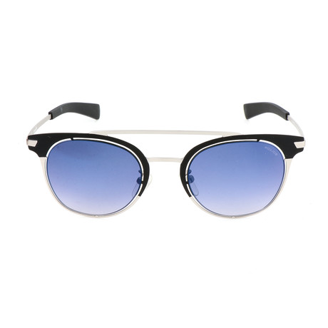 Police Men's Sunglasses // SPL158 // Semi-Matte Black