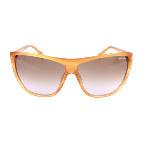 Police Women's Sunglasses // S1730M // Shiny Honey Havana