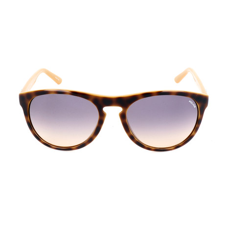 Police Men's Sunglasses // S1871M // Havana + Yellow + Orange