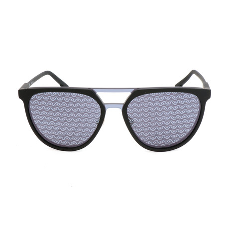 Police Men's Sunglasses // SPL586 // Rubberized Black
