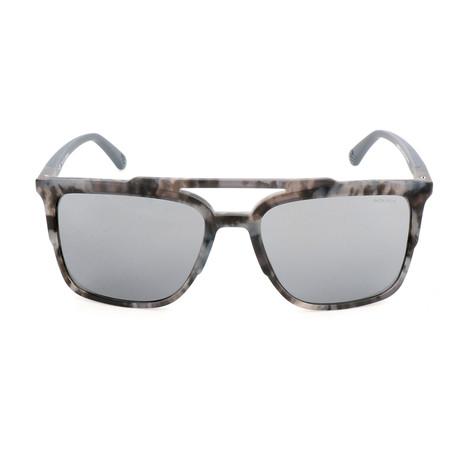 Police Men's Sunglasses // SPL363M // Streaked Gray Havana