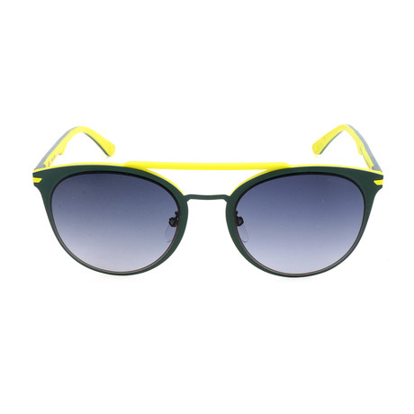 Police Men's Sunglasses // SPL491 // Shiny Blue