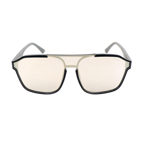 Police Men's Sunglasses // SPL497 // Shiny Black + Gray Lead