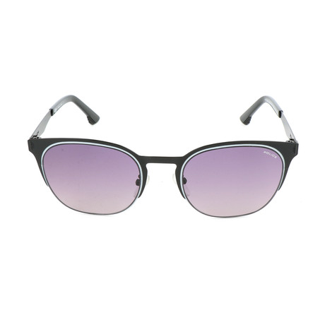Police Men's Sunglasses // SPL341 // Semi-Matte Black