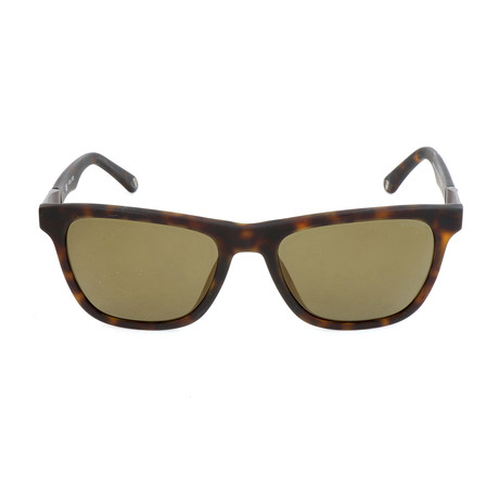 Police Men's Sunglasses // SPL493 // Shiny Dark Havana