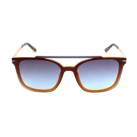 Police Men's Sunglasses // SPL528 // Semi-Matte Milky Orange
