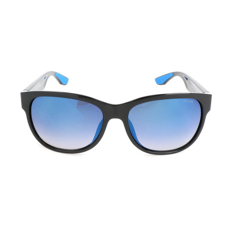Police Men's Sunglasses // SPL034G // Shiny Black