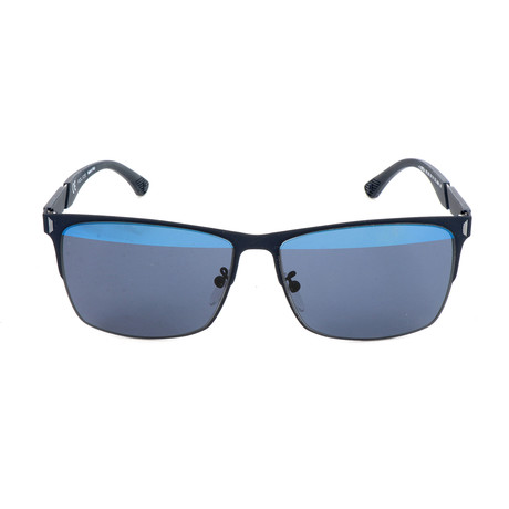 Police Men's Sunglasses // SPL353 // Rubber Light Blue