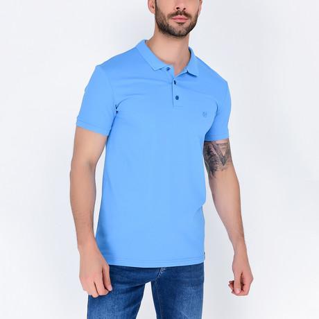 Polo Shirt // Blue (S)