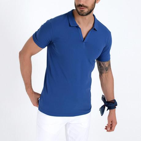 Polo Shirt I // Indigo (S)