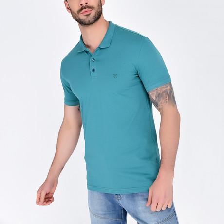 Polo Shirt // Turquoise (S)