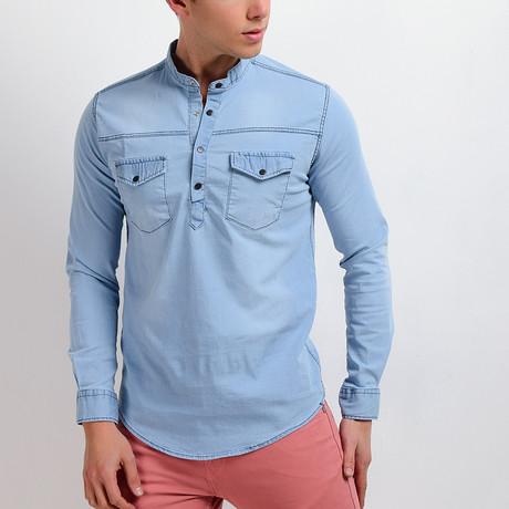 Denim Shirt // Ice (S)