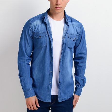 Denim Shirt // Washed Blue (S)