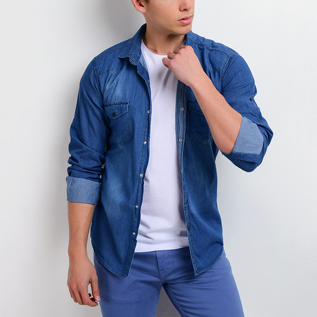 Denim Shirt II // Blue (S)