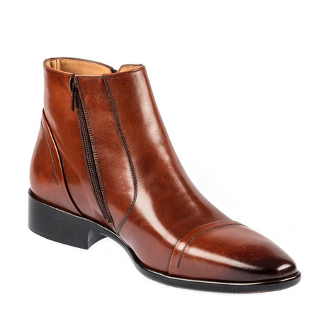 Luciano Dress Shoe // Tobacco (Euro: 39)