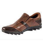 Percy Slip On Shoe // Brown (Euro: 43)