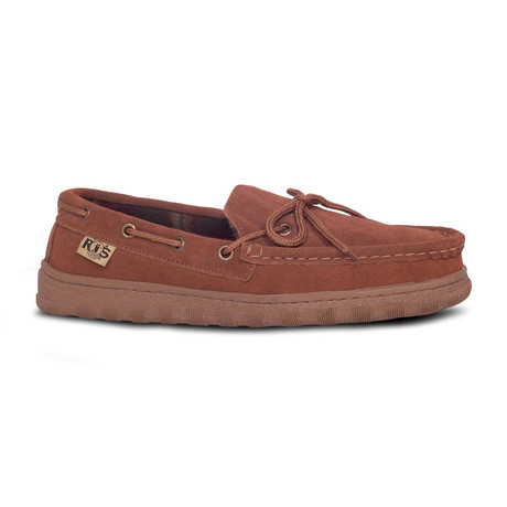 Men's Unlined Moccasin // Wheat (US: 7)