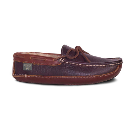 Men's Leather Driving Moccasin // Chocolate (US: 7)
