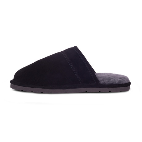 Men's Scuff Slippers // Black (XS)