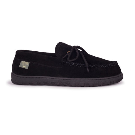 Men's Moccasin // Black (US: 7)
