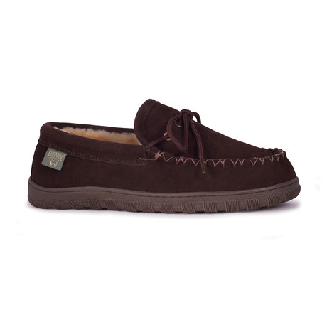 Men's Moccasin // Chocolate (US: 7)