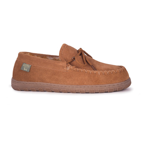 Men's Wide Moccasin // Chestnut (US: 7)