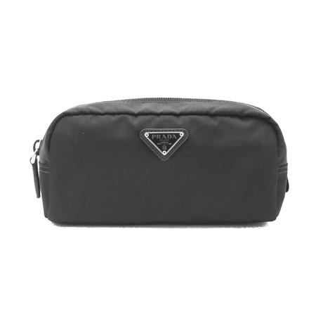 Prada // Nylon Cosmetic Bag // Black