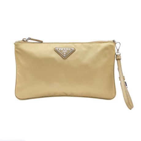 Prada // Nylon Cosmetic Bag V1 // Mustard Yellow