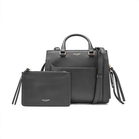 Saint Laurent // Smooth Leather East Side Small Tote Handbag // Black
