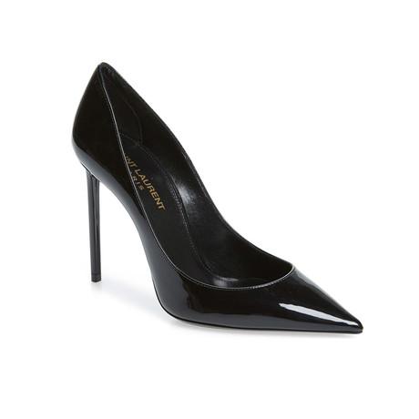 Saint Laurent // Patent Leather High Heel Pump // Black (US: 5)