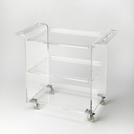 Copenhagen Acrylic Trolley Server