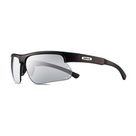Unisex Cusp S Polarized Sunglasses // Matte Black, Gray + Stealth Lens