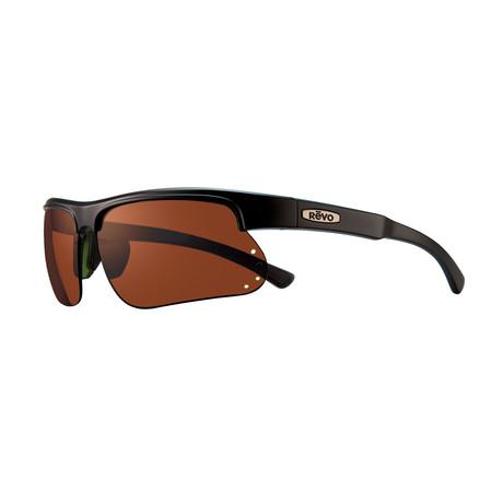 Cusp S Polarized Sunglasses // Matte Black // Open Road Lens