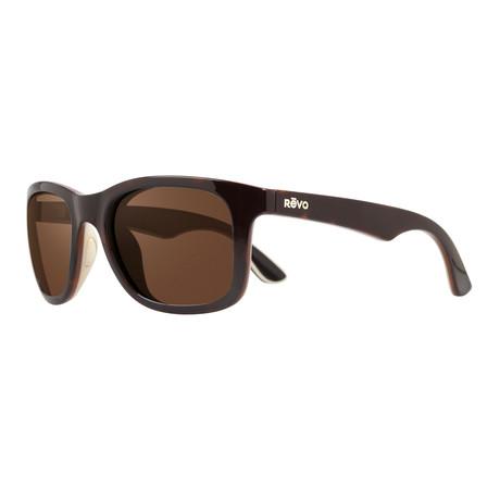 Unisex Huddie Polarized Sunglasses // Tortoise + Ivory + Black + Terra